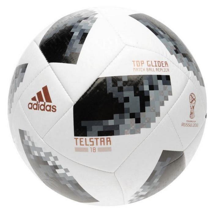 ballon de football telstar adidas top glider officiel coupe du monde 2018 prix pas cher. Black Bedroom Furniture Sets. Home Design Ideas