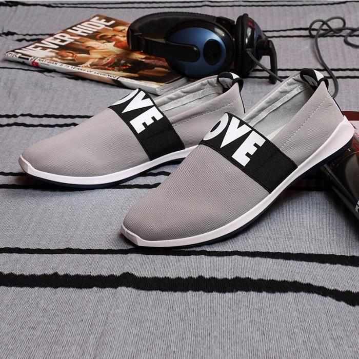 Hommes chaussures tendance de la mode chaussures de toile casual male chaussures hommes chaussures basses de loisirs mâle gLtRf7BU
