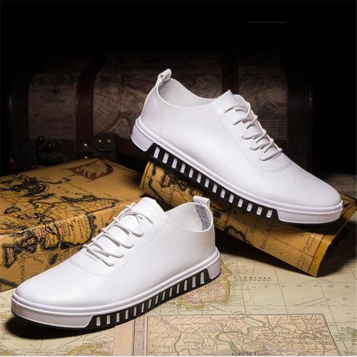 Sneakers Homme Meilleure Qualité Durable Chaussures De Marque De Luxe Sneaker Nouvelle Arrivee Grande Taille 39-44 ivPDzs
