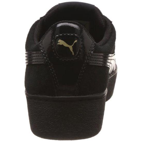 Puma baskets basses homme wo vikky 3UNUJB Taille 37 1 2 Noir