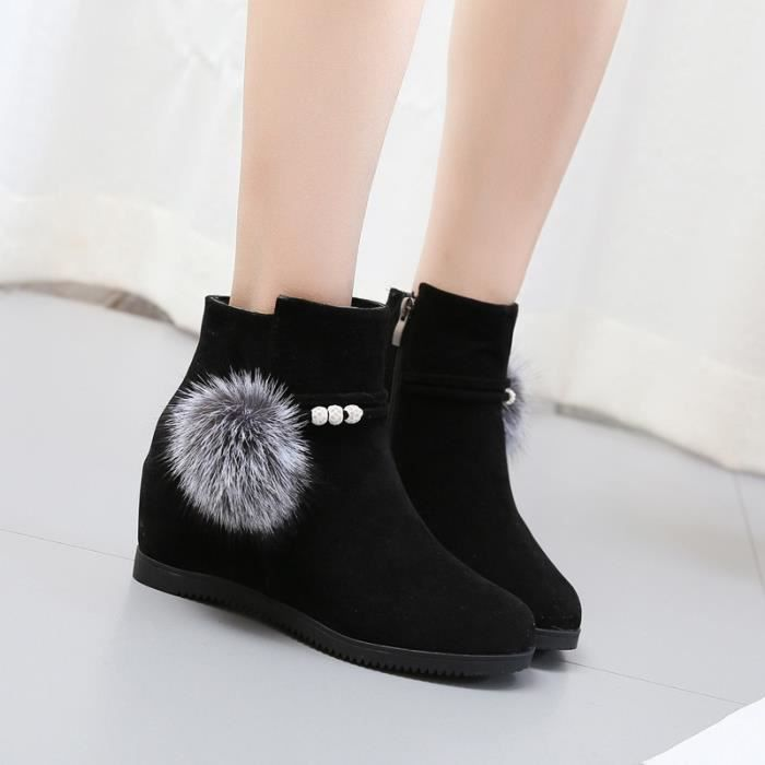 chaussure femme hiver plat aa5171e087ae