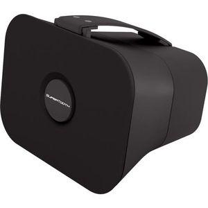 SUPERTOOTH Enceinte stéréo Bluetooth D4 - Noire