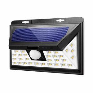 BALISE - BORNE SOLAIRE  Lampes solaires extérieur 34 LED de sonde de mouve