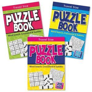 PUZZLE A5 Voyage Puzzle Wordsearch Crossword Sudoku Livre