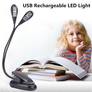 LAMPE A POSER [Deux Tetes] Lampe de bureau led sans fil recharge