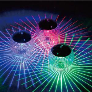 PROJECTEUR - LAMPE Étang flottant solaire lumière piscine de jardin é