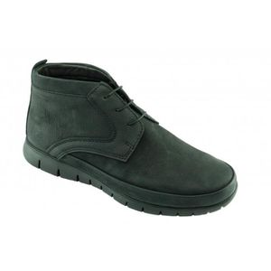 BOTTINE Chaussures Homme Boots à Lacet Confort - SEPIA