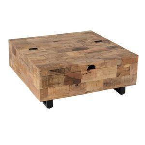 table basse avec coffre achat vente pas cher. Black Bedroom Furniture Sets. Home Design Ideas