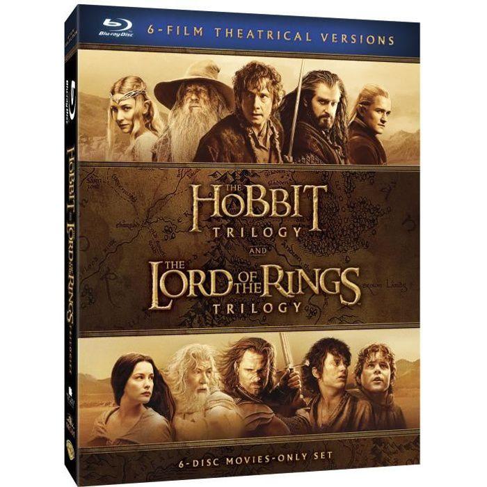 vente chaude pas cher regard détaillé choisir le plus récent Blu-Ray Le Hobbit et Le Seigneur des Anneaux, les trilogies - Version cinéma