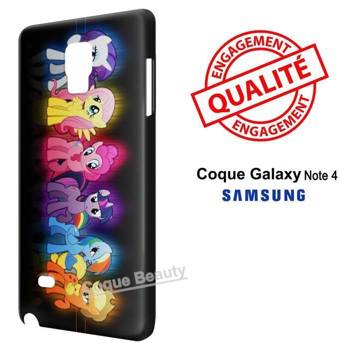 coque samsung galaxie note 4 poney