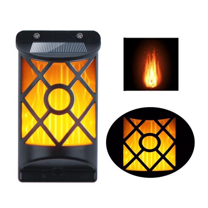 applique murale ext rieure lampe solaire led ip65 tanche. Black Bedroom Furniture Sets. Home Design Ideas