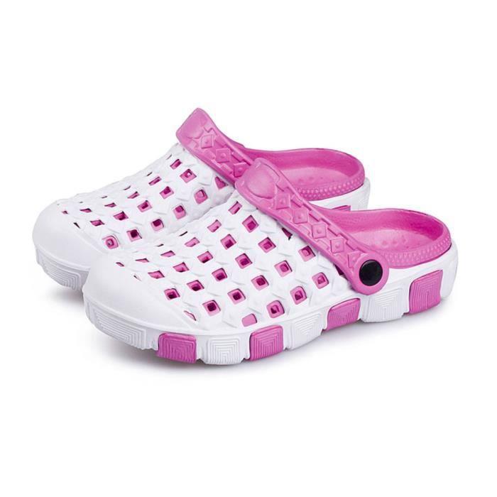 Sandale Femme Été Chaussures Plage Respirant Casual Antidérapants Ultra ConfortableZX-x100blanc-40