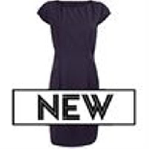 Robe droite Icona pour femme (NF45)-AX107-Bleu marine