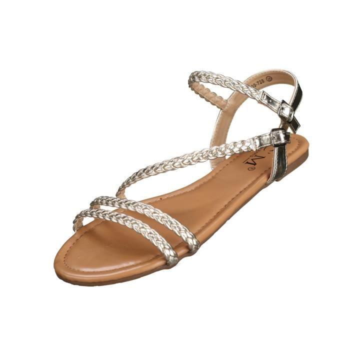 728 Gold Vente Femme Achat Sandales Sandale C M 839 Jaune b76gfy