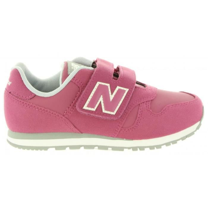 chaussures de sport 0f8a3 939cf Chaussures de sport pour Fille NEW BALANCE KV373PFY BURDEOS