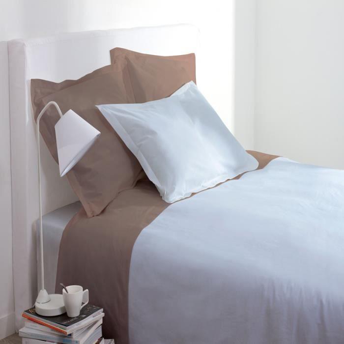 drap housse bleu ciel achat vente drap housse bleu ciel pas cher soldes d s le 10 janvier. Black Bedroom Furniture Sets. Home Design Ideas