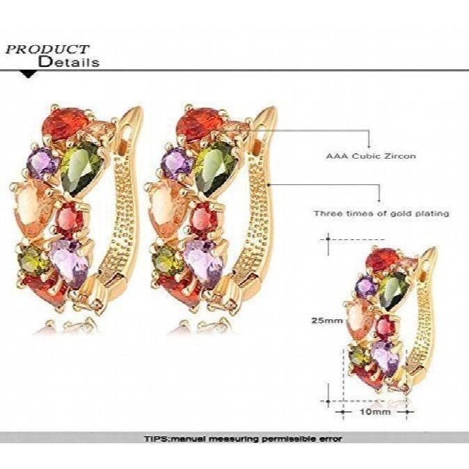 Femmes Dernières Designer élégant Party Fantaisie Wear Pour Crystal Fashion bijoux collier multicolore Y9Z9R