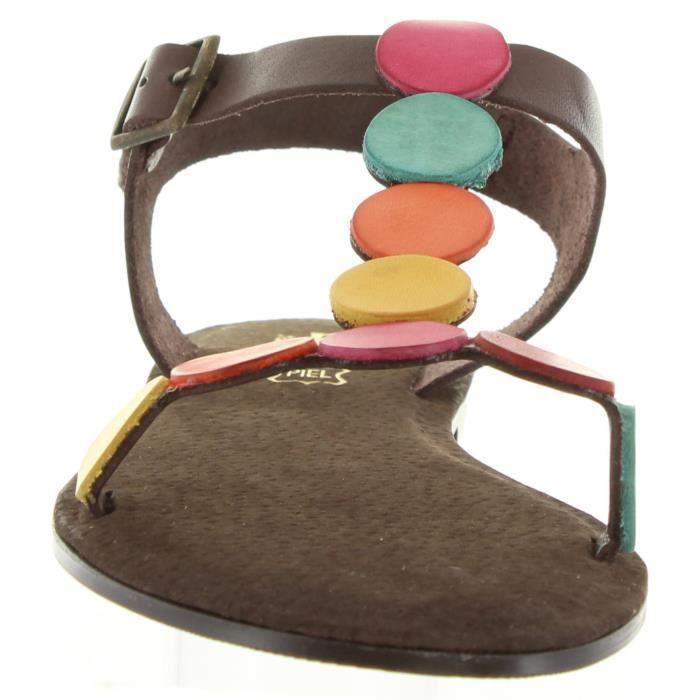 Sandales pour Femme CUMBIA 30584 MOKA MATE