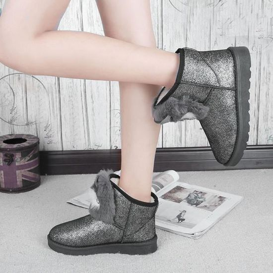 Chaud Casual Bottines Neige Mode Pageare305 Chaussures Femme Lady Hiver zvxntIq