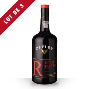 VIN ROUGE 3x Offley Ruby - 3x75cl - Porto Rouge