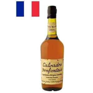 DIGESTIF EAU DE VIE Calvados Domfrontais Fermier AOC - Victor Gontier
