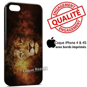 COQUE - BUMPER Coque iPhone 4 & 4S Lion 2