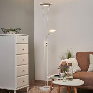 LAMPADAIRE Lampadaire à éclairage indirect LED blanc Eda