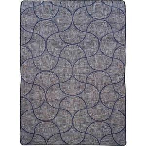 TAPIS Tapis imprimé E167 Marron Stampa - 160x230cm