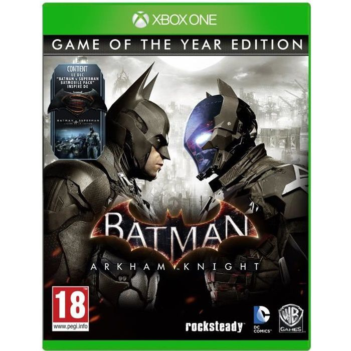 batman arkham knight game of the year edition jeu xbox one avis test cdiscount. Black Bedroom Furniture Sets. Home Design Ideas