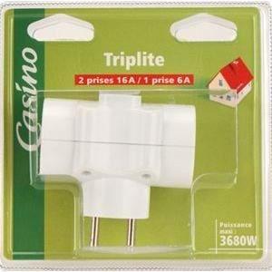Prise Triplite 2X16A+T et 1X6A