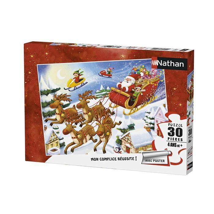 Puzzle La Tournée du Père Noël