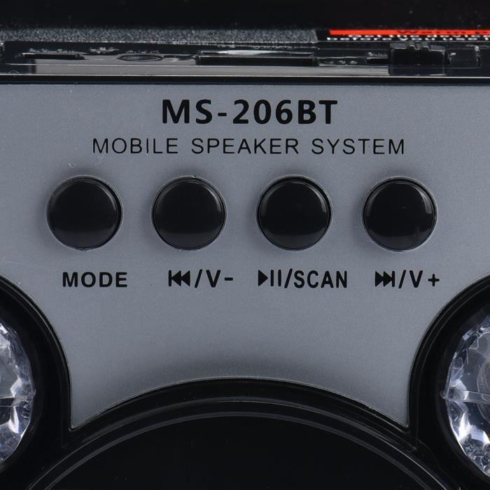 Extérieur Sans Fil Bluetooth Haut-parleur Portable Super Bass Avec Radio Usb - Tf Aux Fm Scy61206101_911