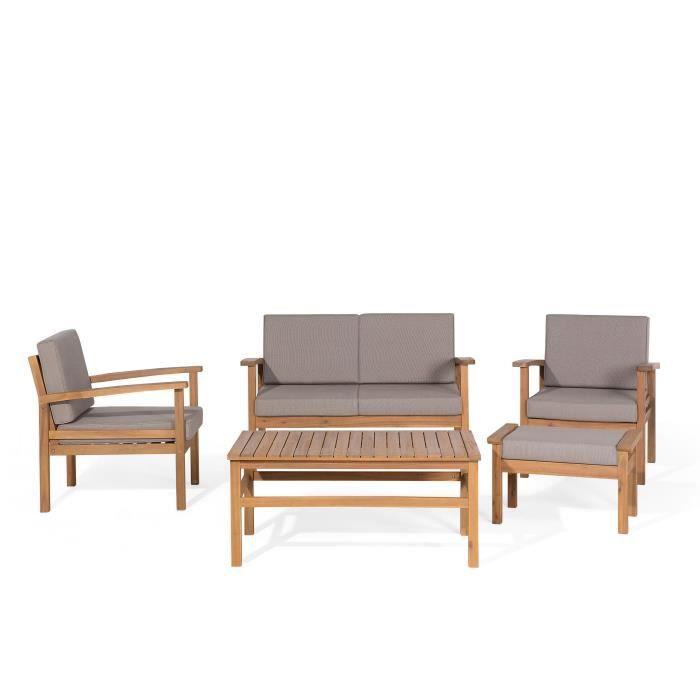 Ensemble de jardin - Set de terrasse en bois d acacia - Mobilier de ...