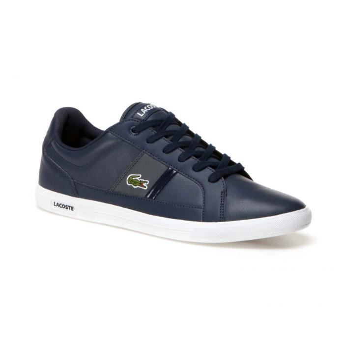 BASKET Chaussures Lacoste Europe sombre bleu lcr3 , Coule