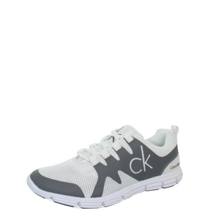 Baskets Calvin Klein Murphy Mesh ref_jim40845 gris et blanc