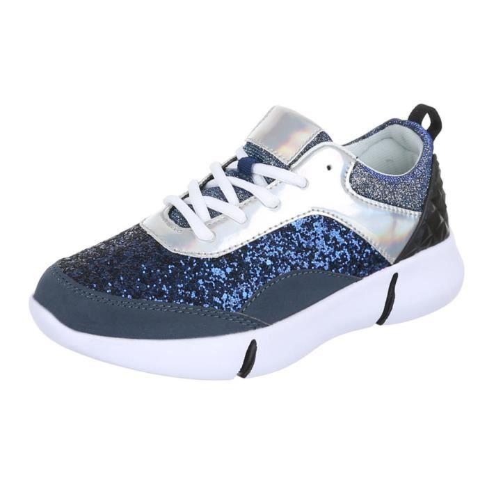 femmechaussures décontractéeschaussureLow-top Sneaker chaussure de sport Streetwear s0Bt4i