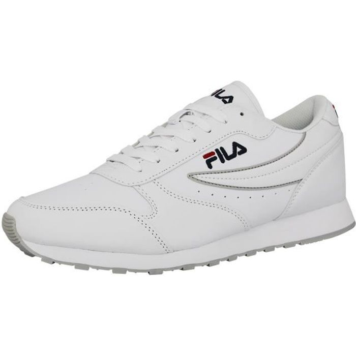 fila orbit low chaussures mode sneakers homme blanc blanc. Black Bedroom Furniture Sets. Home Design Ideas