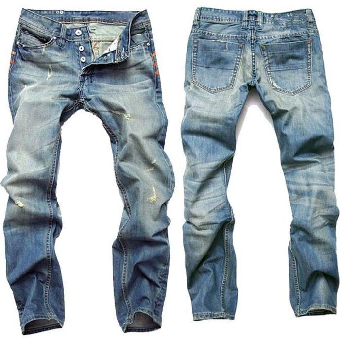 bedd76e50 Pantalon jean homme de marque - Achat / Vente pas cher