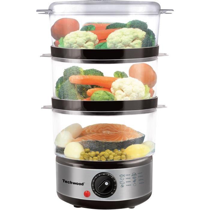 Cuiseur vapeur electrique achat vente cuiseur vapeur for Appareil vapeur cuisine