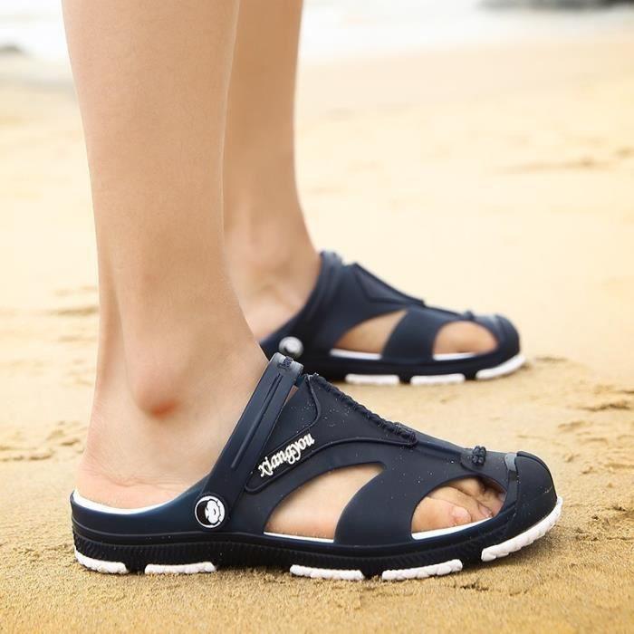 Mode d'été Chaussures loafer imperméable Sandal Chaussures hommes xg4oD5sD0