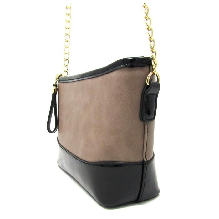 Faux cuir riche mode épaule Tassel embrayage Crossbodybag et la bourse NQZQ3