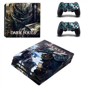 STICKER - SKIN CONSOLE Version YSP4P-2145 - Jeu Dark Souls Ps4 Pro Peau A