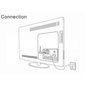 UNITÉ CENTRALE  Mini-hôte BBen PC Intel Quad Core 2 Go 1,33Ghz + 3