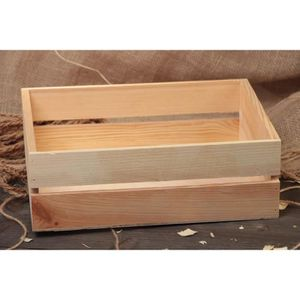 petite caisse en bois achat vente petite caisse en bois pas cher soldes d s le 10 janvier. Black Bedroom Furniture Sets. Home Design Ideas