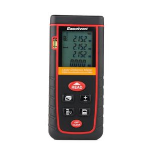 TÉLÉMÈTRE - LASER Télémètre Laser 0.05 à 80m LCD Mètre Laser Distanc