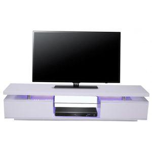 meuble tv bleu meuble tv blanc laque achat vente meuble tv blanc