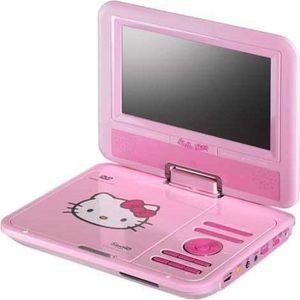 RADIO CD ENFANT Lecteur DVD portable - Hello Kitty