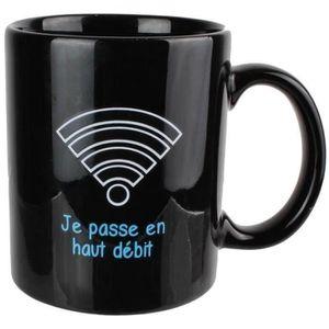 BOL - MUG - MAZAGRAN Set Lot 3 Mugs Tasses A Café Magique En Céramique