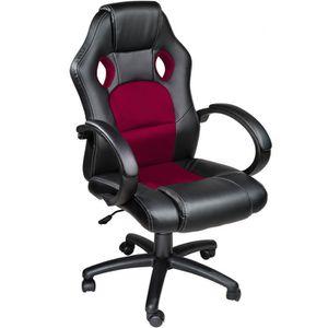 CHAISE DE BUREAU TECTAKE Chaise de bureau Fauteuil de bureau RACING