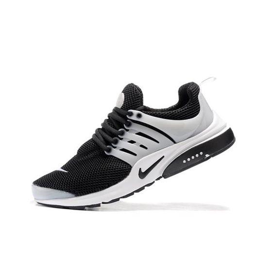 fc34179e820b Mixte Nike Air Presto Chaussures de course Baskets blanc noir blanc TU -  Achat / Vente basket - Soldes d'été Cdiscount